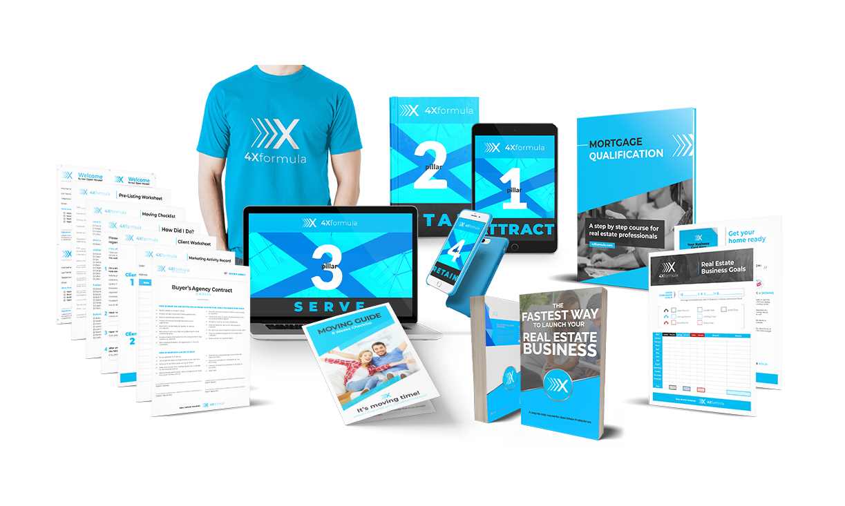 4X formula online training for real estate agents